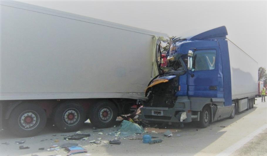 Havárie kamion