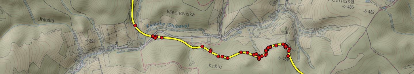 obrázek:dopravni nehody srazky se zveri priklad aplikace geoinformatiky v dopravnim vyzkumu obr 2