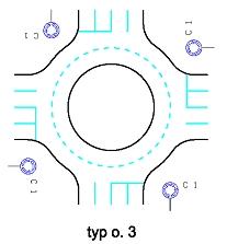 obrázek:obr 1 okruzni krizovatka typ o 3