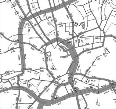 obrázek:obrazek 1 vysledky modelovani dopravnich objemu v centru brna