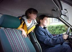 obrázek:vyvoj pouzivani zadrznych systemu podle pozice osoby ve vozidle